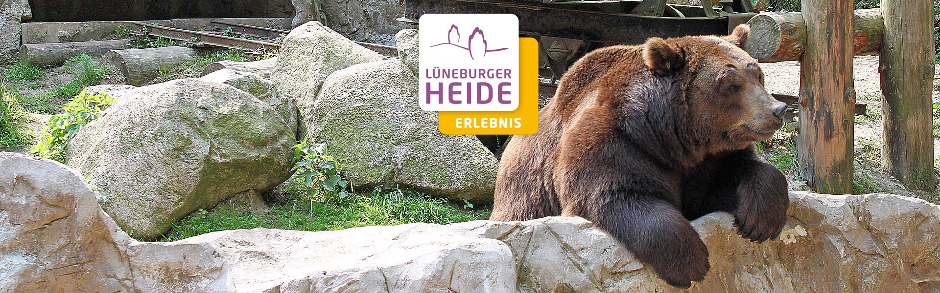 Wildpark Lüneburger Heide in Hanstedt Nindorf an der A7