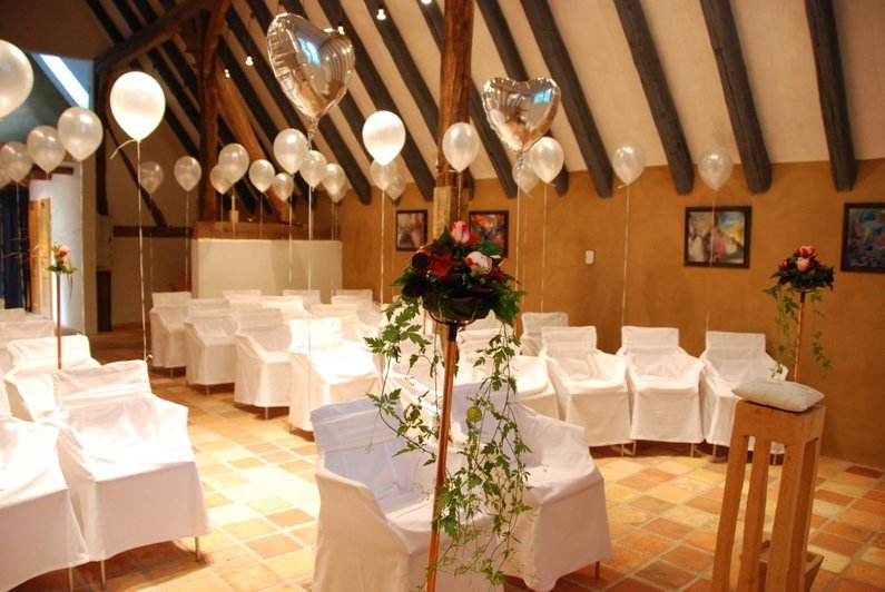 Hotel wildland natural resort for Saaldekoration hochzeit