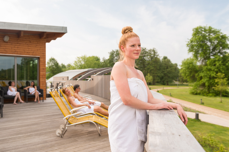 Sommer in der Jod-Sole-Therme in Bad Bevensen
