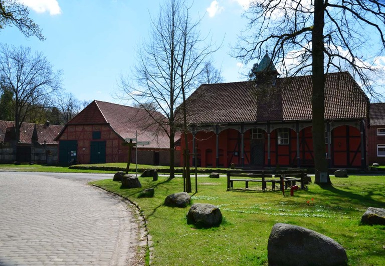 Stechinelli-Kapelle in Wieckenberg in der Lüneburger Heide