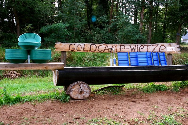 Goldwaschcamp in Wietze