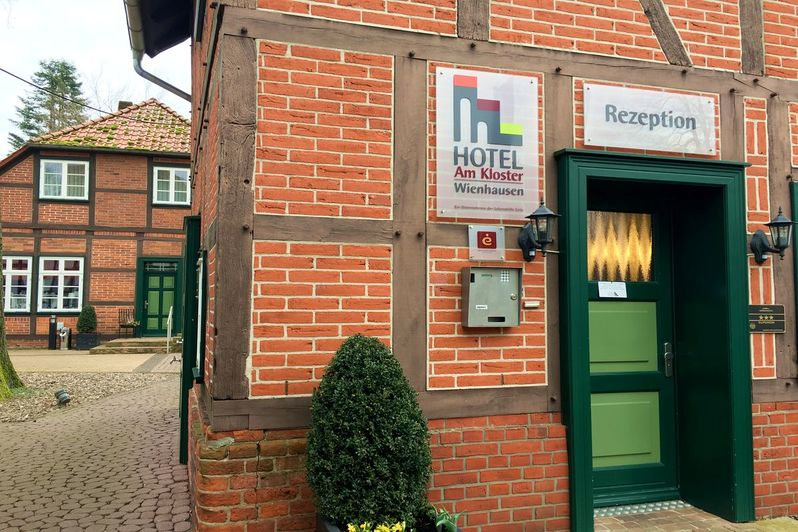 Rezeption Hotel am Kloster