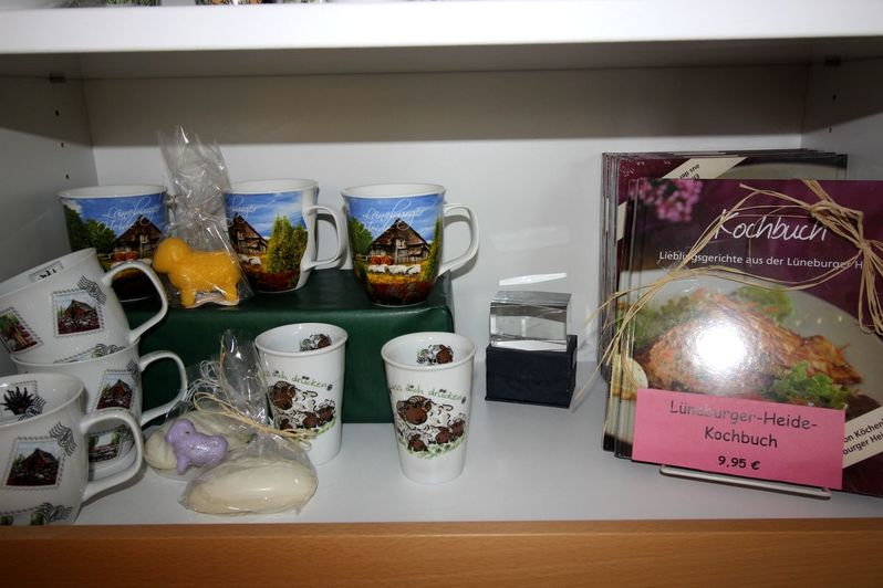 Souvenirs in der Tourist-Information