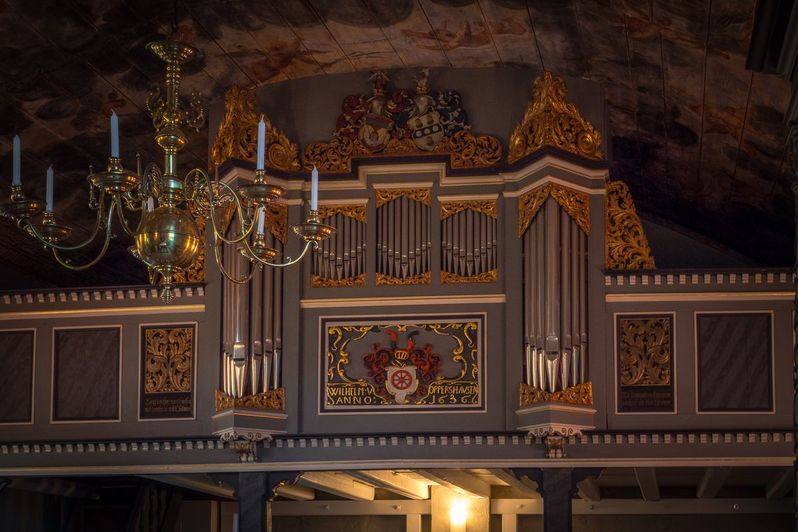 Die Orgel in der Maria Magdalenen Kapelle Oppershausen
