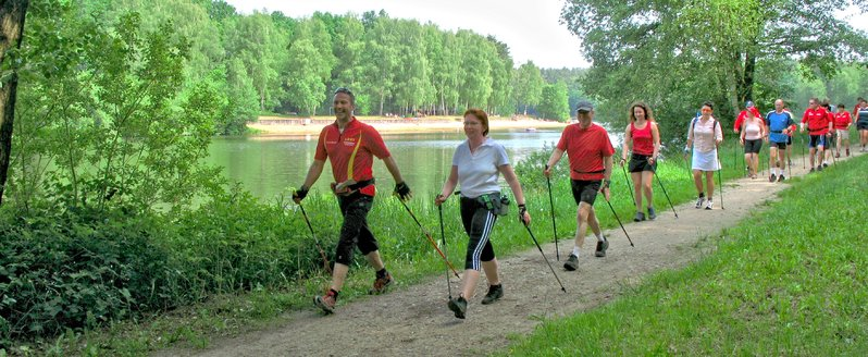 Nordic Walking am Hardausee Hösseringen